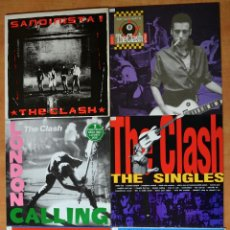 Discos de vinilo: PACK 6 - THE CLASH. Lote 46438949