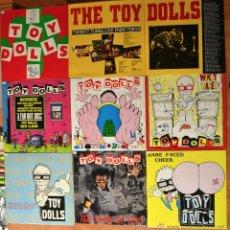 Discos de vinilo: PACK 8 - THE TOY DOLLS + 2 CD. Lote 46439045