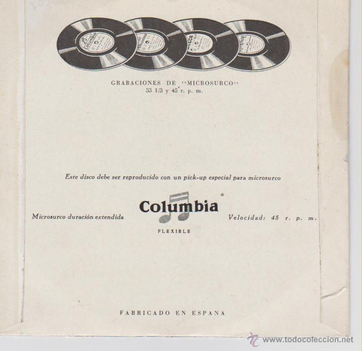 Discos de vinilo: KIRK DOUGLAS & THE MELLOMEN / PEGGY LEE - JOHNNY GUITAR - EP SPAIN 1957 VG++ /VG++ - Foto 2 - 46448439