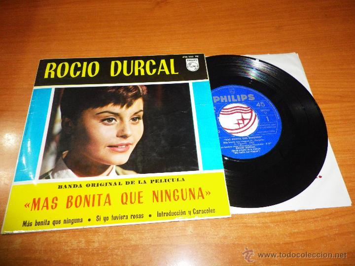 ROCIO DURCAL MAS BONITA QUE NINGUNA / SI YO TUVIERA ROSAS EP VINILO BANDA SONORA PHILIPS 1965 (Música - Discos de Vinilo - EPs - Solistas Españoles de los 50 y 60)