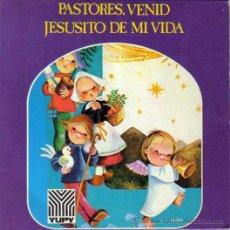Discos de vinilo: VILLANCICOS PASTORES VENID,JESUSITO DE MI VIDA, YUPI,ILUSTRACION MOL-RUIZ SOLO CARATULA!!!!SIN DISCO. Lote 46455430