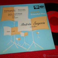 Discos de vinilo: ANDRES SEGOVIA FANDANGUILLO/NORTEÑA/SUITE CASTELLANA EP 1958 LA VOZ DE SU AMO GUITARRA GUITAR. Lote 46458177