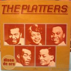 Discos de vinilo: PLATTERS - DISCO DE ORO. Lote 46460822