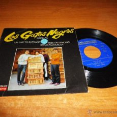 Discos de vinilo: LOS GATOS NEGROS CADILLAC / VOY A ENLOQUECER / ERES UN DEMONIO EP VINILO VERGARA 1966 . Lote 46471422