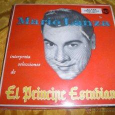 Discos de vinilo: MARIO LANZA. EL PRINCIPE ESTUDIANTE. SINGLE DOBLE. RCA 1956. Lote 46472804