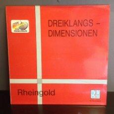 Discos de vinilo: MAXI RHEINGOLD-DREIKLANGS-DIMENSIONEN -ORIGINAL 1980,EDICION 1983 NUEVO. Lote 46480489