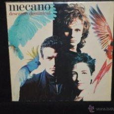 Discos de vinilo: MECANO - DESCANSO DOMINICAL - LP. Lote 46489097