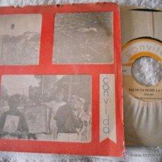 Discos de vinilo: SINGLE DEL GRUPO CONVITE- CONVIDA (DOMINICANOS)-PORT.ABIERTA-LETRAS.. Lote 46495071