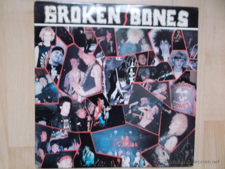BROKEN BONES NEVER SAY DIE 1986 PUNK (Música - Discos de Vinilo - Maxi Singles - Punk - Hard Core)