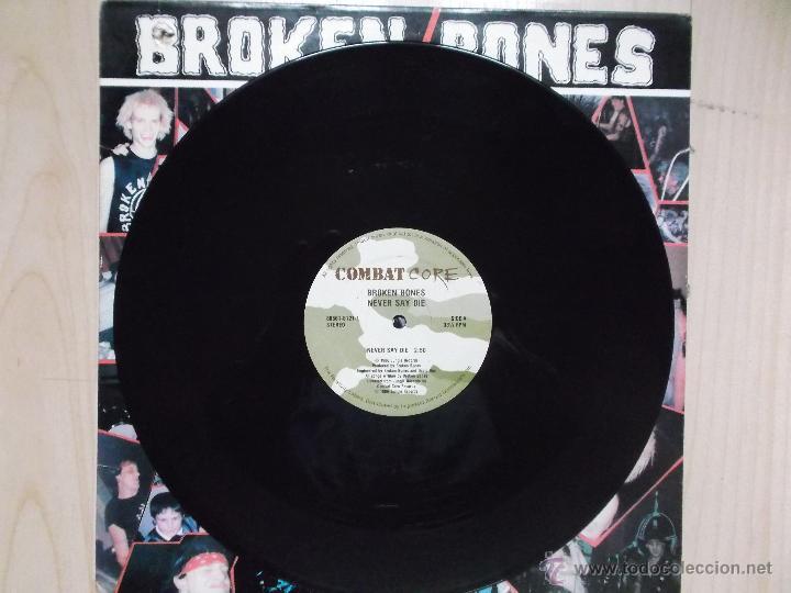 Discos de vinilo: BROKEN BONES NEVER SAY DIE 1986 PUNK - Foto 2 - 46497511