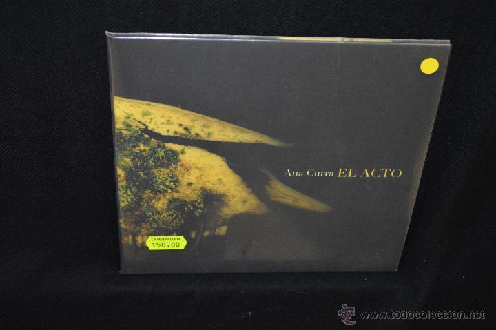 ANA CURRA - EL ACTO - EP (Música - Discos de Vinilo - EPs - Grupos Españoles de los 70 y 80)