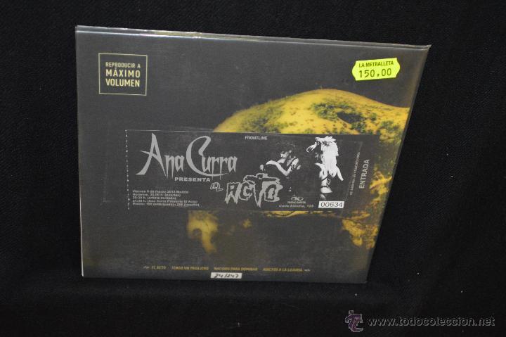 Discos de vinilo: ANA CURRA - EL ACTO - EP - Foto 2 - 46500459