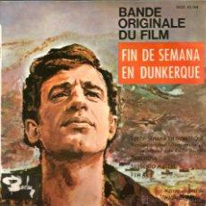 Discos de vinilo: EP EDDIE BARCLAY & MAURICE JARRE : FIN DE SEMANA EN DUNKERQUE . Lote 46502330