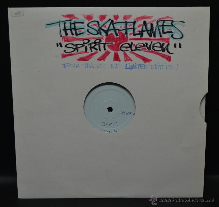 THE SKA FLAMES - EP LIMITED EDITION (Música - Discos de Vinilo - EPs - Reggae - Ska)