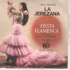 Discos de vinilo: ANA MARIA LA JEREZANA EP FIDIAS 1966 FIESTA FLAMENCA/ ROSA MALENA/ +2 RUMBA BULERIAS. Lote 46505396