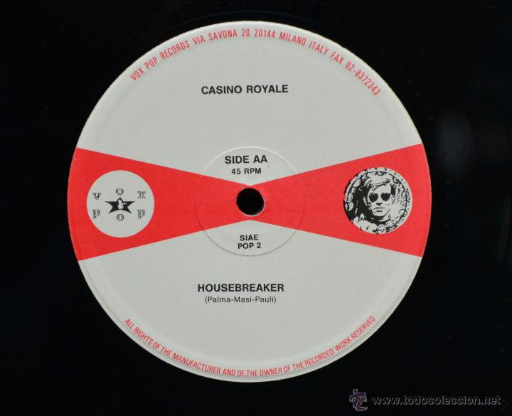 Discos de vinilo: Vinilo SKA - CASINO ROYALE - GO FOR THE MONEY - Foto 3 - 46506384