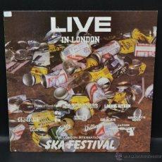 Discos de vinilo: VINILO SKA - THE LONDON INTERNATIONAL SKA FESTIVAL LIVE IN LONDON. Lote 46506537