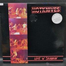 Discos de vinilo: DOBLE VINILO SKA - THE HOTKNIVES - LIMITED EDITION LP + MINI LP. Lote 46506663