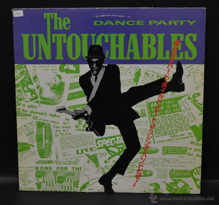 VINILO SKA - THE UNTOUCHABLES - DANCE PARTY (Música - Discos de Vinilo - EPs - Reggae - Ska)