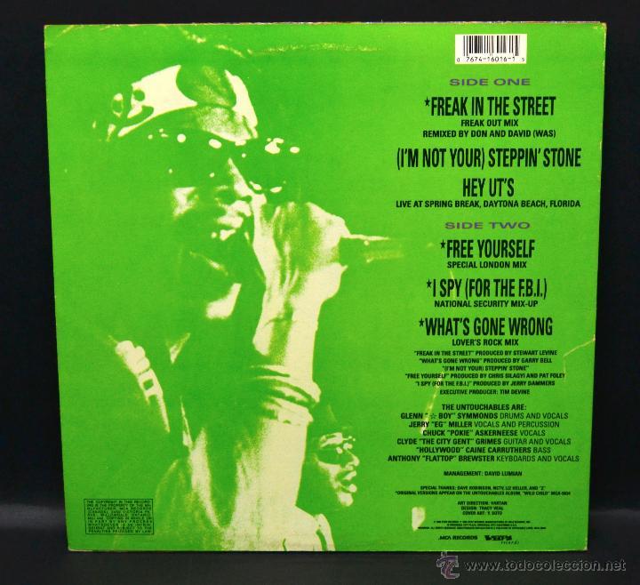 Discos de vinilo: vinilo ska - THE UNTOUCHABLES - DANCE PARTY - Foto 2 - 46506790