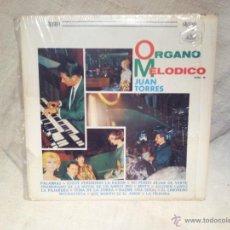 Discos de vinilo: ORGANO MELODICO VOL. 6 JUAN TORRES ...MADE IN HIALEAH..FLORIDA 1975..RARO. Lote 46507616