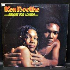 Discos de vinilo: VINILO REGGAE - KEN BOOTHE - REGGAE FOR LOVERS. Lote 46507926