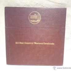 Discos de vinilo: ALL STAR COUNTRY WESTERN CAVALCADE..THE LONGINES SYMPHONETTE SOCIETY. Lote 46508763