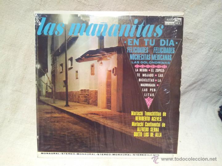 LAS MAÑANITAS EN TU DIA..AUDIO MEX..HECHO EN MEXICO 1979 (Música - Discos - LP Vinilo - Étnicas y Músicas del Mundo)