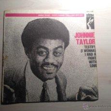 Discos de vinilo: JOHNNIE TAYLOR - TESTIFY - STAX -1969 - FRANCIA. Lote 46511391