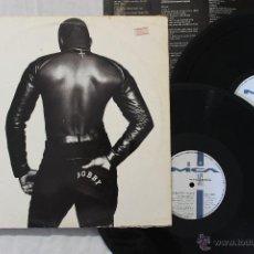 Discos de vinilo: BOBBY BROWN BOBBY 2 LP VINYLS MADE IN SPAIN 1992. Lote 46511776