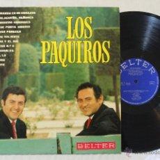 Discos de vinilo: LOS PAQUIROS LP VINILO ESPAÑA BELTER 1969. Lote 46512206
