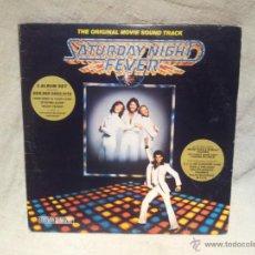 Discos de vinilo: SATURDAY NIGHT FEVER..MOVIE SOUNG TRACK.R.S.O RECORDS 1977 CANADA..DOBLE LP. Lote 46512303