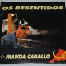 Discos de vinilo: OS RESENTIDOS.MANDA CARALLO / A LOBA.AS INCANSABLES DE GANCAS.(GRABACIONES ACCIDENTALES 1990).. Lote 46517732