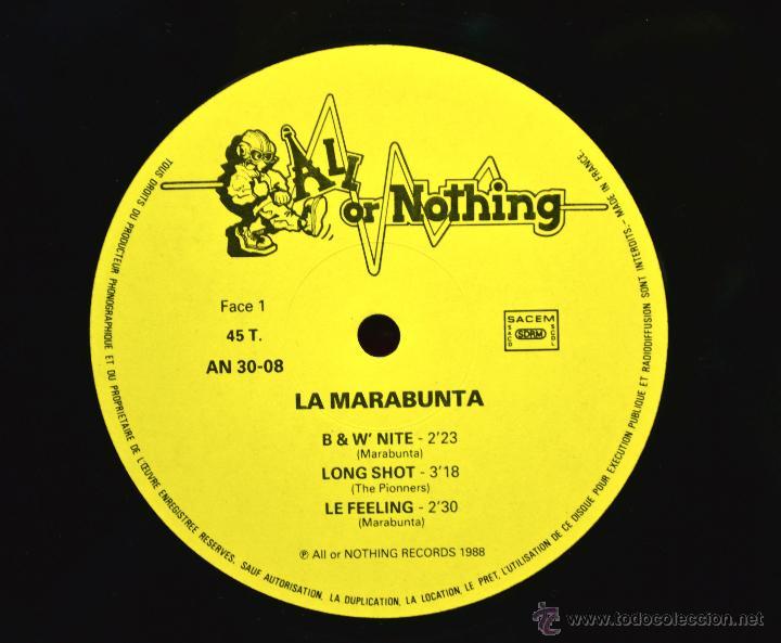 Discos de vinilo: Vinilo SKA - LA MARABUNTA - Foto 3 - 46518007