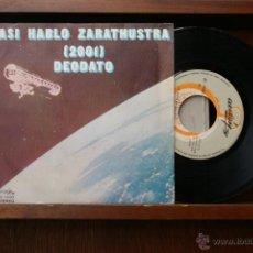 Discos de vinilo: EUMIR DEODATO -ASI HABLO ZARATHUSTRA 2001-ESPIRITU DE VERANO. Lote 46518730