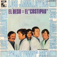 Discos de vinilo: JAVALOYAS, SG, EL BESO + 1, AÑO 1969. Lote 46521020