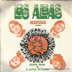 Discos de vinilo: LOS ALBAS SG VERGARA 1969 QUIEN SERA/ A LITTLE BIT HURT . Lote 46523564