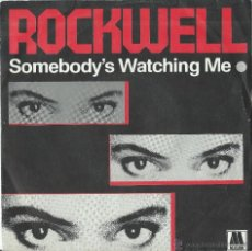 Discos de vinilo: MICHAEL JACKSON. ROCKWELL. SINGLE. Lote 46529283
