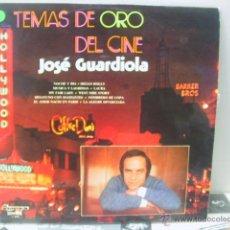 Discos de vinilo: JOSE GUARDIOLA - TEMAS DE ORO DEL CINE - OLYMPO 1974. Lote 46530736