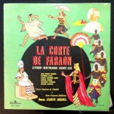 Discos de vinilo: LA CORTE DEL FARAÓN - ATAÚLFO ARGENTA. Lote 46531041