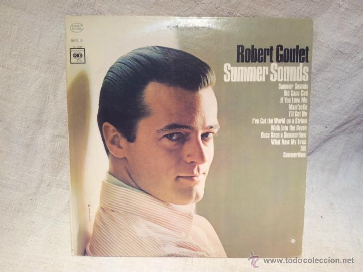 ROBERT GOULET..SUMMER SOUNDS..COLUMBIA CANADA (Música - Discos - LP Vinilo - Cantautores Extranjeros)
