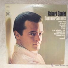Discos de vinilo: ROBERT GOULET..SUMMER SOUNDS..COLUMBIA CANADA. Lote 46531209