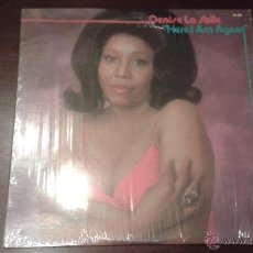 Discos de vinilo: DENISE LASALLE - HERE I AM AGAIN. 1975 US SOUL FUNK LP ON WESTBOUND. Lote 46531216