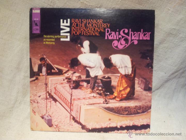 RAVI SHANKAR - LIVE AT THE MONTEREY INTERNATIONAL POP FESTIVAL. LOS ANGELES 1967 (Música - Discos - LP Vinilo - Étnicas y Músicas del Mundo)