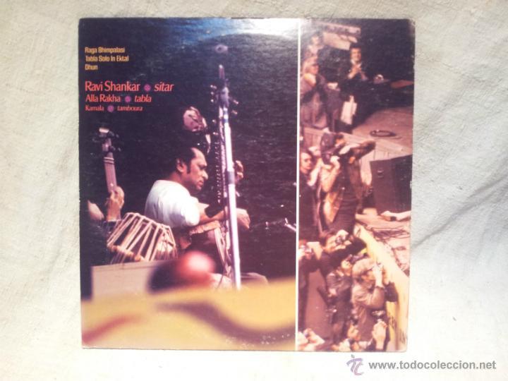 Discos de vinilo: Ravi Shankar - Live At The Monterey International Pop Festival. los angeles 1967 - Foto 2 - 46532269