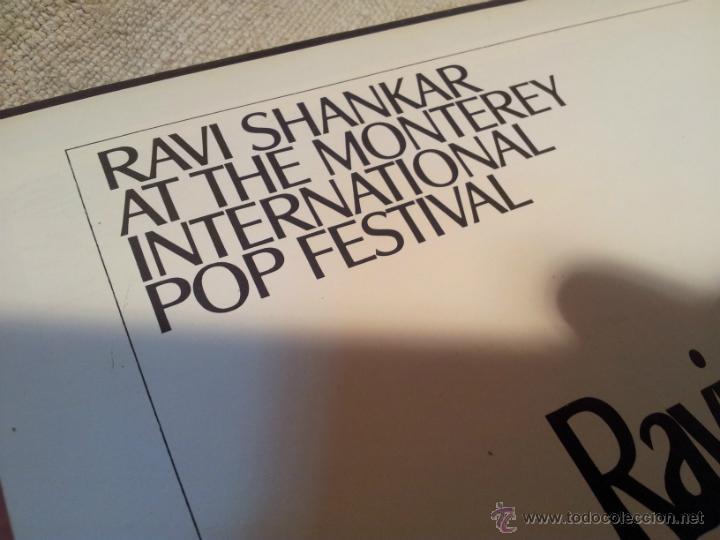 Discos de vinilo: Ravi Shankar - Live At The Monterey International Pop Festival. los angeles 1967 - Foto 4 - 46532269
