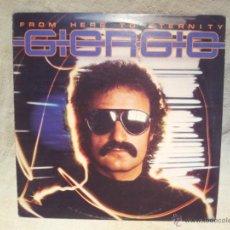 Discos de vinilo: GIORGIO - FROM HERE TO ETERNITY 1977 CANADA. Lote 46532624