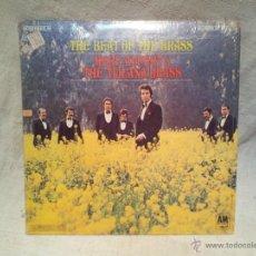 Discos de vinilo: ALPERT HERB/TIJUANA BRASS - THE BEAT OF THE BRASS ..DOBLE PORTADA ..AM RECORDS CANADA. Lote 46532703