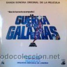 Discos de vinilo: LA GUERRA DE LAS GALAXIAS - BSO DE LA PELÍCULA. Lote 46536904