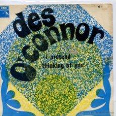 Discos de vinilo: DES O'CONNOR / I PRETEND / THINKING OF YOU (SINGLE 1968). Lote 46547644